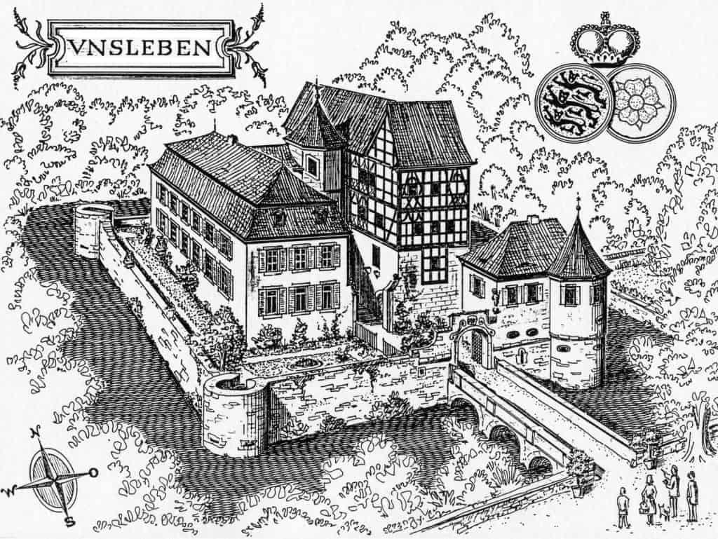 Wasserschloss Unsleben