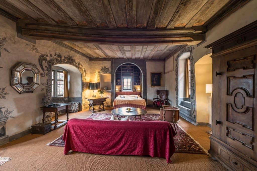 Schlossappartment, romantische Ferien im Schloss