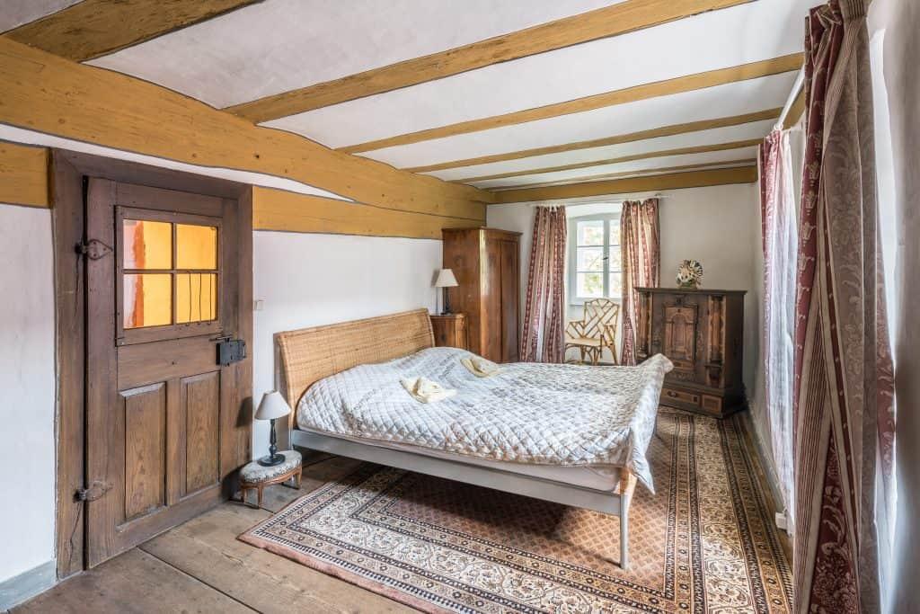 Schlossappartment,kleines Schlafzimmer