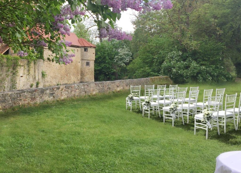 Hochzeit im Schlossgarten